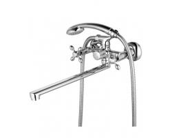 Смеситель для ванны Lemark Vista LM7651C (хром глянец, с душевым комплектом)