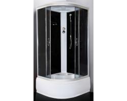 Душевой кабина Loranto CS-1000 HI SK G 100x100 (тонированное стекло, высокий поддон)