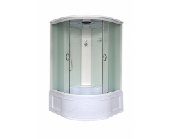Душевой кабина Loranto CS-1200 Hi F 120x120 (матовое стекло, высокий поддон)