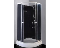 Душевой кабина Loranto CS-8519 90х90 (тонированное стекло, низкий поддон, без крыши)