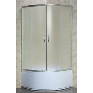 Душевой уголок Loranto CS-8010S 80х80 (матовое стекло, высокий поддон)