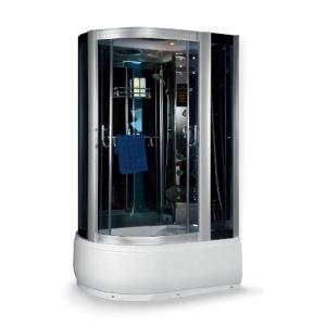 Душевая кабина Luxus 520 R 120x80 (правая, тонированное стекло, высокий поддон)