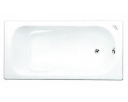 Чугунная ванна Maroni Colombo 445973 150x75 (белая, с ножками, без отверстий под ручки)