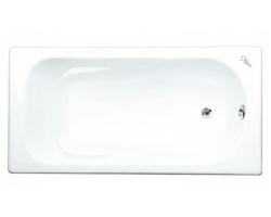 Чугунная ванна Maroni Colombo 445971 160x75 (белая, с ножками, без отверстий под ручки)