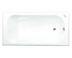 Чугунная ванна Maroni Colombo 445969 170x75 (белая, с ножками, без отверстий под ручки)