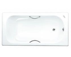 Чугунная ванна Maroni Colombo 445970 170x75 (белая, с ножками и ручками)