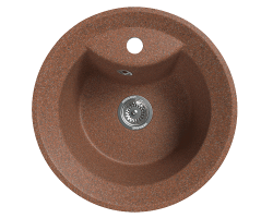 Кухонная мойка Merkana Модель 1 48х48 см. 34884 (терракотовая)