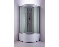 Душевая кабина Niagara NG-2308-14 90х90 (матовое стекло, высокий поддон, с крышей без гидромассажа)