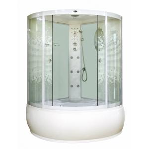 Душевая кабина Niagara NG-318-01 3180154 150x150 (прозрачное стекло с рисунком, высокий поддон)
