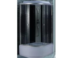 Душевая кабина Niagara NG-7510-14R 120х80 (правая, тонированное стекло с мозаикой, высокий поддон, с крышей, без гидромассажа)
