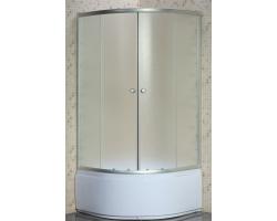 Душевой уголок Niagara NG-005-08N 80х80 (матовое стекло, высокий поддон)