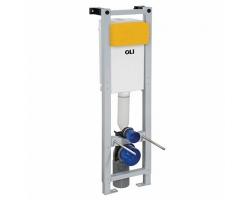 Инсталляция для подвесного унитаза OLI Quadra Sanitarblock 280490m (механический смыв)