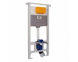 Инсталляция для подвесного унитаза OLI120 Eco Sanitarblock 879235 (пневматический смыв)