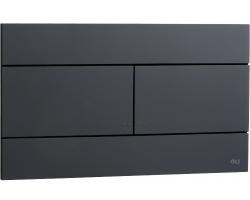 Смывная клавиша Oli Slim 659055 (чёрная)