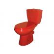 Унитаз напольный Оскольская керамика Элисса 43360110212 (антивсплеск, красный)
