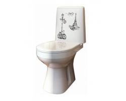 Унитаз напольный Оскольская керамика Лея Люкс Декор 41301110321