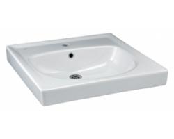 Раковина Ideal Standard Eurovit W407301 60 см. (белая, для установки над стиральной машинкой)
