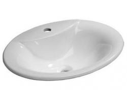 Раковина Ideal Standard Oceane W306301 54 см. (белая, встраиваема в столешницу)