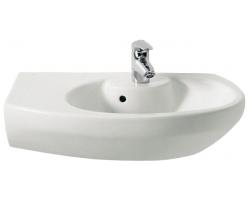 Раковина Roca Dama Senso Compacto 68 см. 7.3275.1.800.0 L (327518000) (белая, левая)