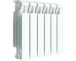Радиатор биметаллический Rifar Monolit 500 (6 секций)