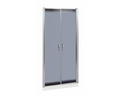 Дверь для душа River Suez 80 ТН 80х185 (тонированное стекло)
