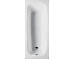 Чугунная ванна Roca Continental 140x70 7.2129.1.400.1 (212914001) (с противоскользящим покрытием)