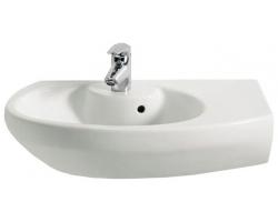 Раковина Roca Dama Senso Compacto 68 см. 7.3275.1.900.0 R (327519000) (белая, правая)
