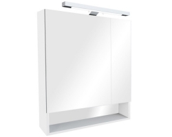 Зеркало-шкаф Roca Gap 80 см. Z.RU93.0.288.7 (ZRU9302887) (белое, глянцевое)
