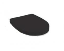 Крышка-сиденье для унитаза Roca Victoria Nord Z.RU93.0.262.7 (ZRU9302627) (дюропласт, микролифт, чёрная)