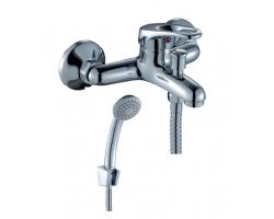 Смеситель для ванной Rossinka Серия B B35-31 (хром глянец, с душевым комплектом)