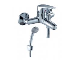 Смеситель для ванны Rossinka Серия D D40-31 (хром глянец, с душевым комплектом)