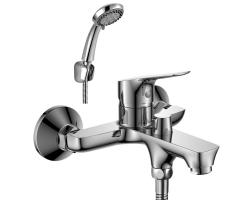 Смеситель для ванны Rossinka Серия RS29 RS29-33 (хром глянец, с душевым комплектом)