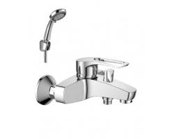 Смеситель для ванны Rossinka Серия T T40-31 (хром глянец, с душевым комплектом)