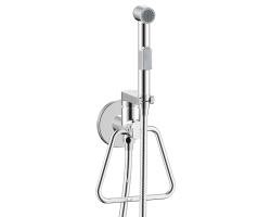 Комплект для гигиенического душа Rossinka Серия X X25-55 (хром глянец, скрытое подключение)