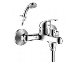 Смеситель для ванны Rossinka Серия Y Y35-30 (хром глянец, с душевым комплектом)