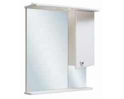 Зеркало Руно Элегант 65 (белое, правое)
