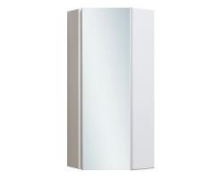 Шкаф угловой Руно Кредо 30 (белый, правый, с зеркалом)