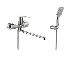 Смеситель для ванны Rush Bering BE5535-51 (хром глянец, с душевым комплектом)