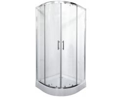 Душевой уголок Rush Corsica CO-R29090 90x90х19 (прозрачное стекло)