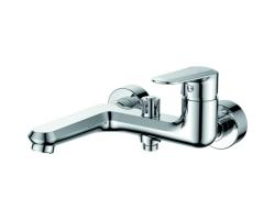 Смеситель для ванны Rush Devon DE7535-44 (хром глянец, с душевым комплектом)