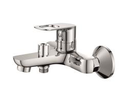 Смеситель для ванны Rush Edge ED7735-44 (хром глянец, с душевым комплектом)