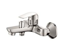 Смеситель для ванны Rush Fiji FI1835-44 (хром глянец, с душевым комплектом)