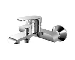 Смеситель для ванны Rush Gozo GZ3735-44 (хром глянец, с душевым комплектом)