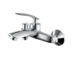 Смеситель для ванны Rush Island IS6535-44 (хром глянец, с душевым комплектом)