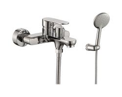 Смеситель для ванны Rush Luson LU1630-44 (хром глянец, с душевым комплектом)