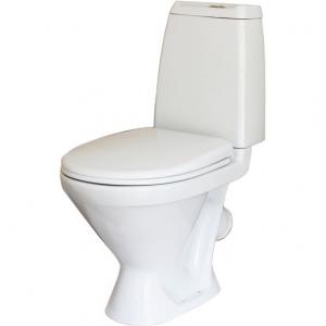 Унитаз напольный Sanita Кама Эконом (полипропиленовое сиденье)