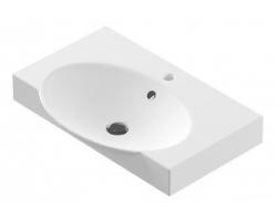 Раковина Sanita Luxe Infinity 65 INF65SLWB01 65 см. (белая, накладная)