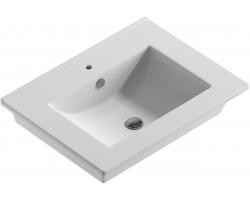 Раковина Sanita Luxe Quadro 60 QDR60SLWB01 60 см. (белая, накладная)