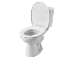 Унитаз напольный Сантек Бореаль 1.WH30.1.704 (косой, антивсплеск, полипропиленовое сиденье)