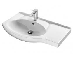 Раковина Сантек Коралл 83 1.WH11.0.228 83 см. (белая, правая, мебельная)